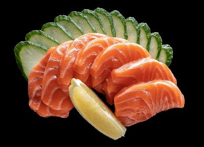 Сашимі з лососем