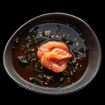 Місо широ з лососем